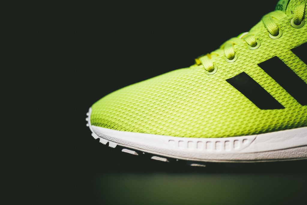 adidas originals zx flux electric yellow