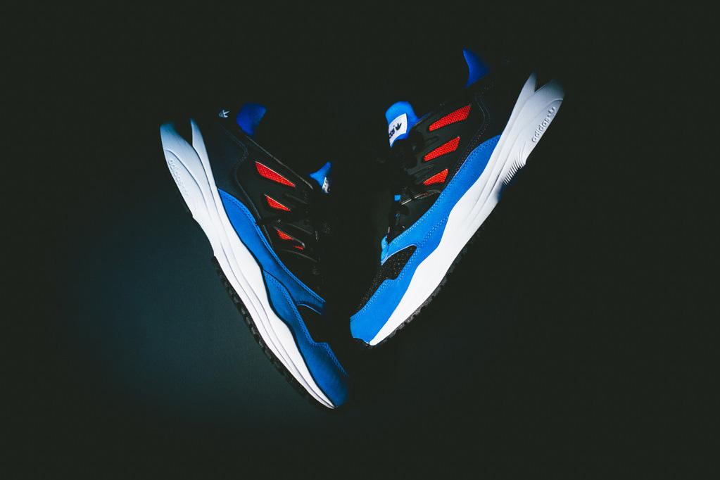adidas originals torsion allegra blue red black run white
