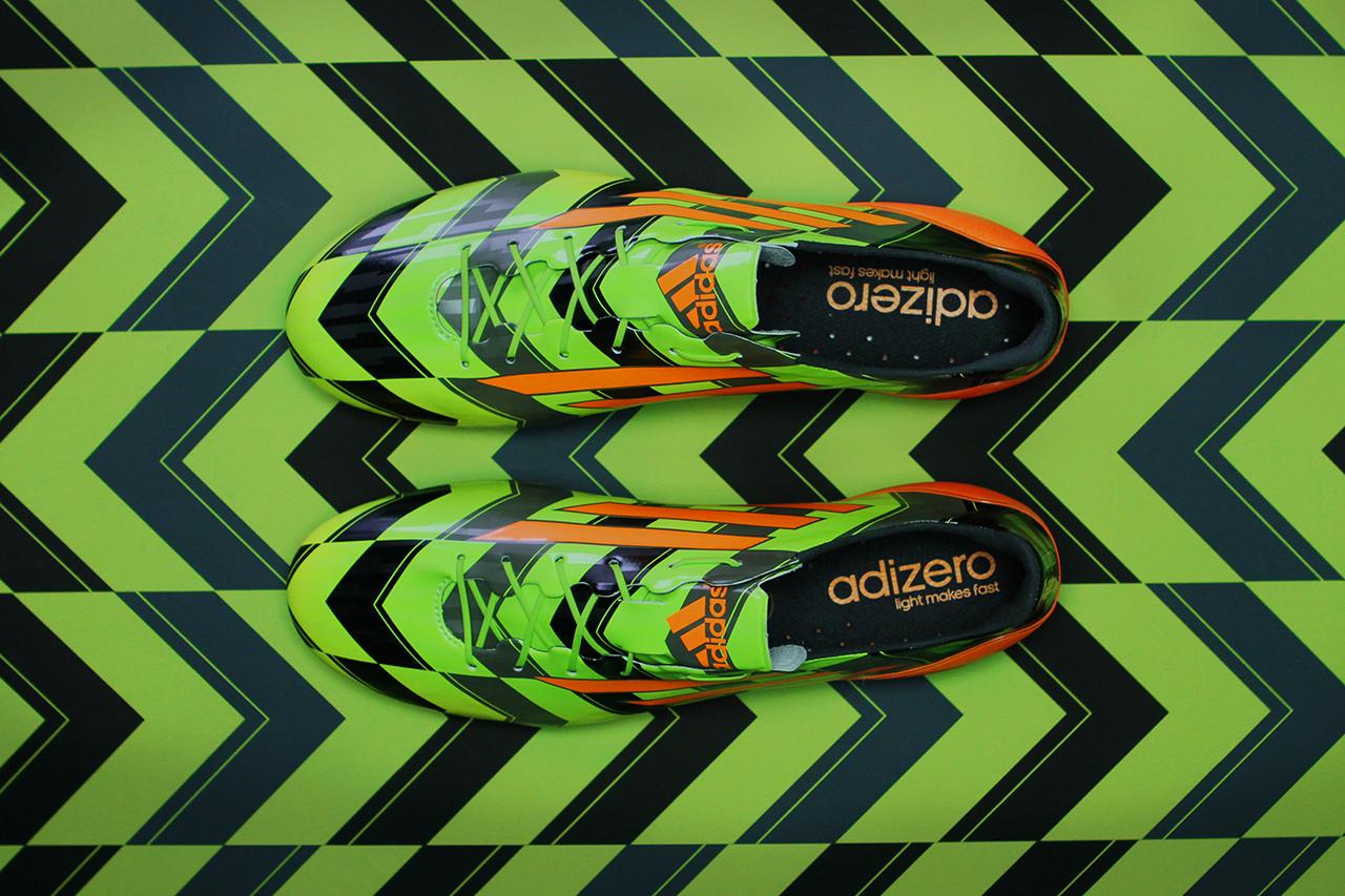 adidas Unveils the Lightest Cleat Ever: The adizero F50 Crazylight