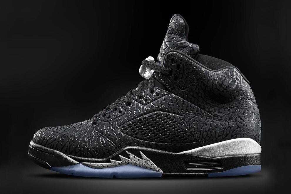 Air Jordan 3Lab5 Black/Metallic Silver
