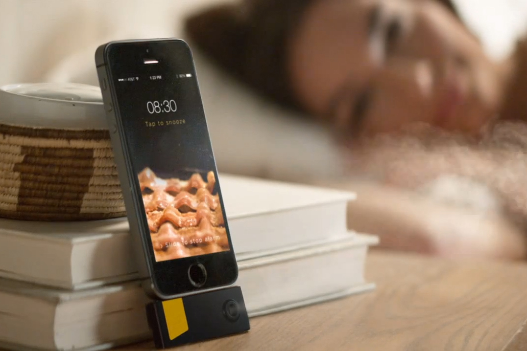 Bacon Scented iPhone Alarm