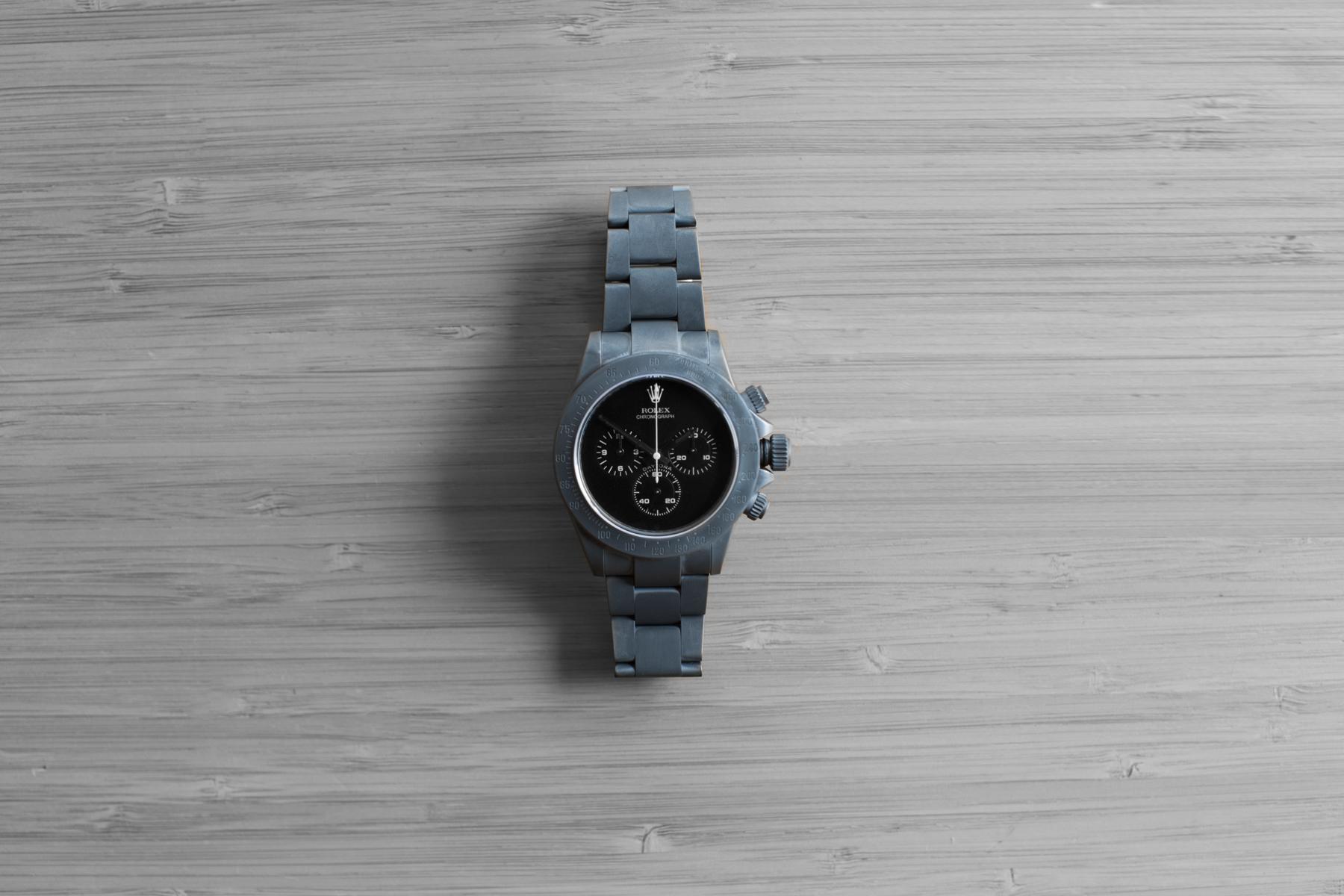 """Bamford Watch Department Rolex """"Super Matte Grey"""" Daytona"""