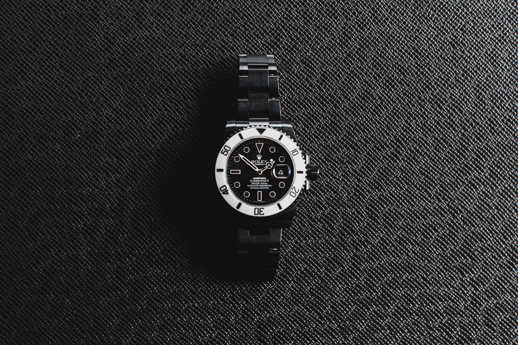 "Bamford Watch Department Rolex ""Storm Trooper"" Submariner"