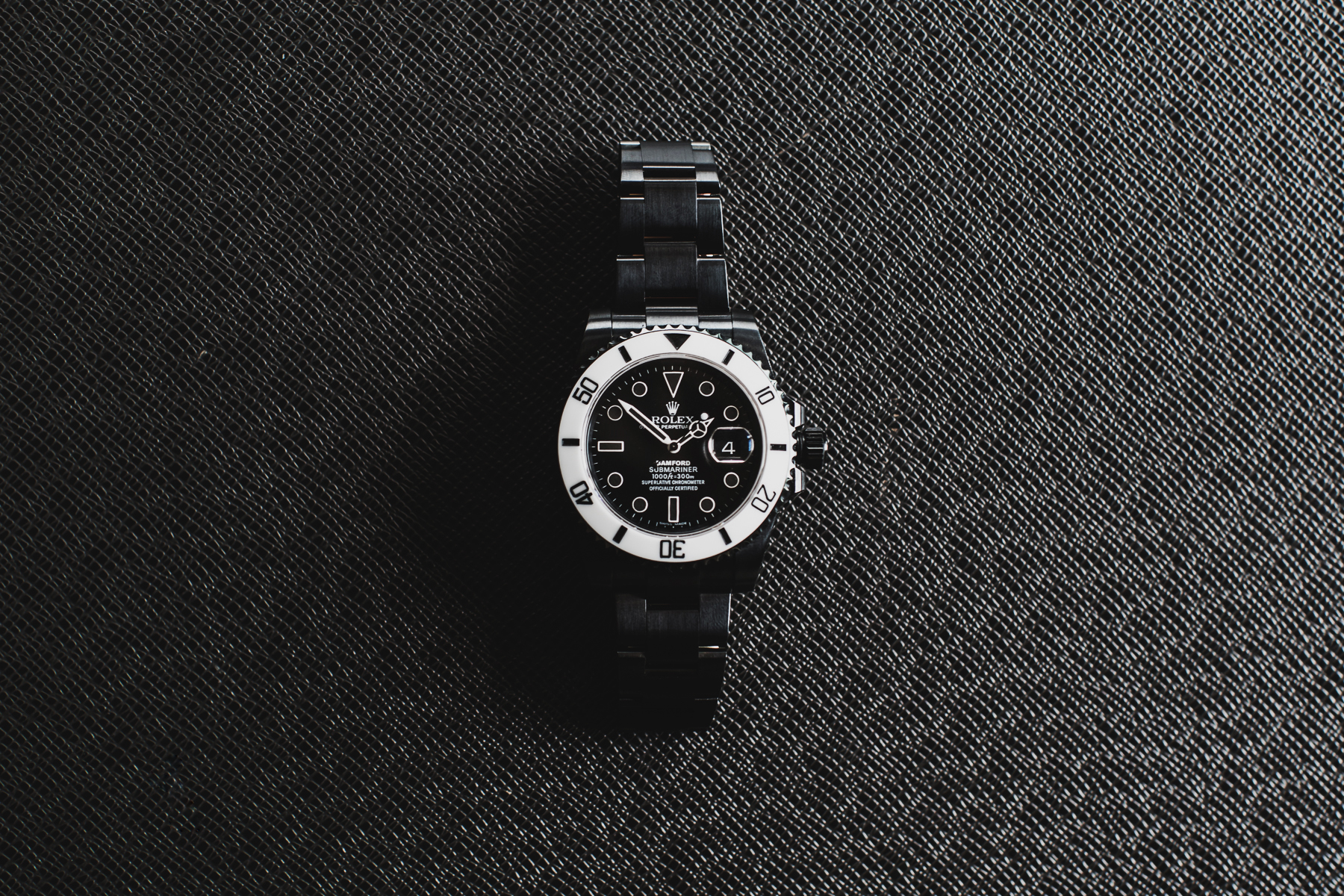 bamford watch department rolex storm trooper submariner