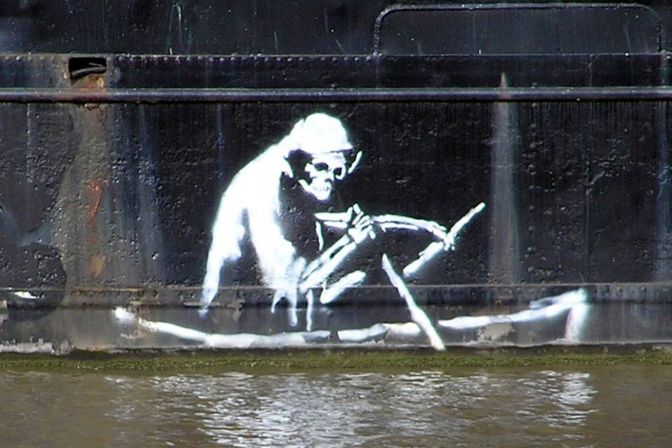 [UPDATED] Banksy Teams Up with BNE for World Water Day