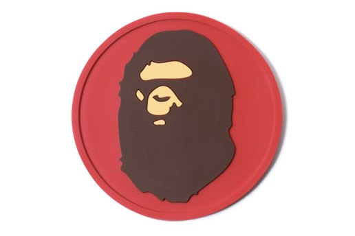 A Bathing Ape REVERSIBLE RUBBER COASTER