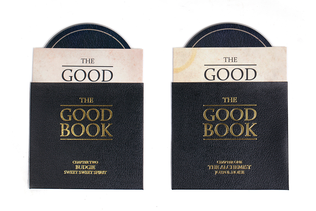 bau presents the good book by the alchemist budgie