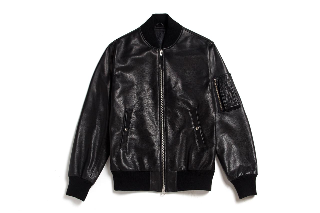 black scale x golden bear 2014 spring summer ma 1 jacket