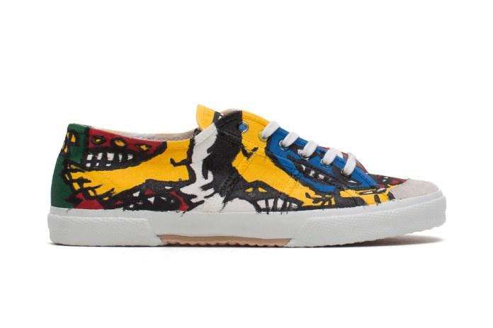 COMME des GARÇONS Homme Plus 2014 Spring/Summer Hand-Painted Sneaker