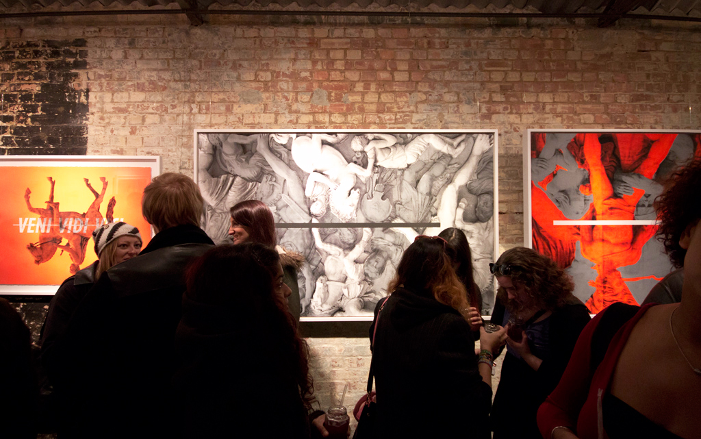 "CYRCLE. ""OVERTHRONE: Pooring Reign"" @ Stolen Space Gallery Recap"