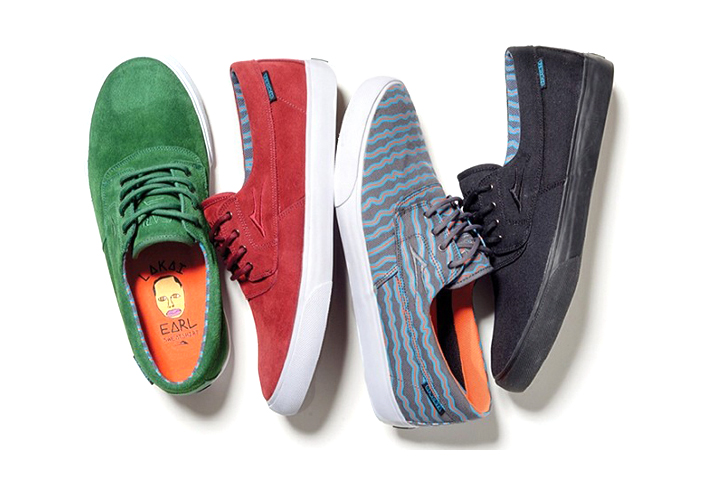 Earl Sweatshirt x Lakai 2014 Footwear Collection