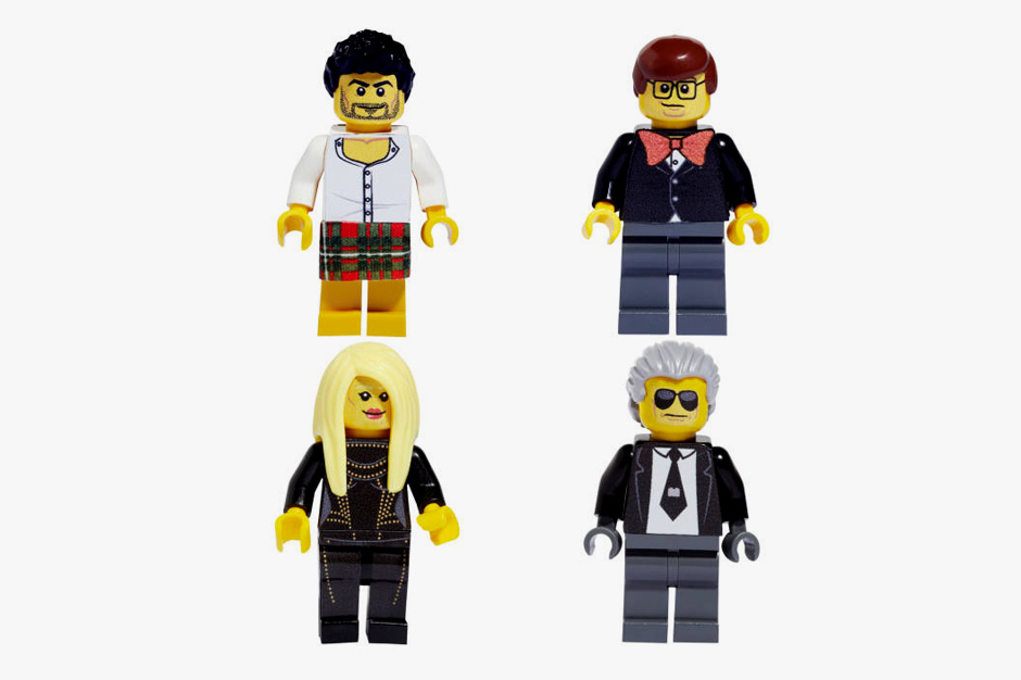 Famous Fashion Figures Reimagined as LEGOs