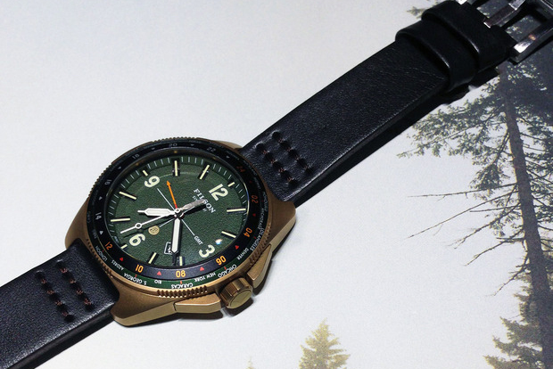 filson previews first ever watch collection by shinola