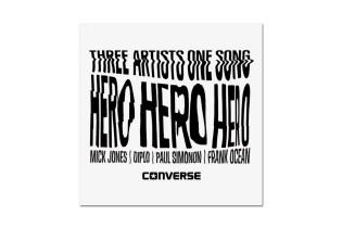 Frank Ocean x Diplo x Mick Jones x Paul Simonon – Hero