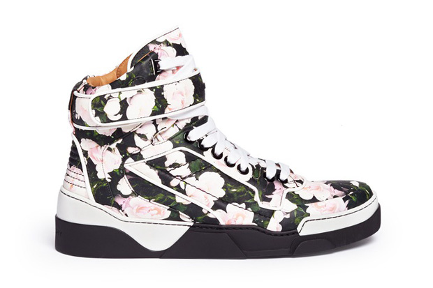 givenchy tyson floral print high top