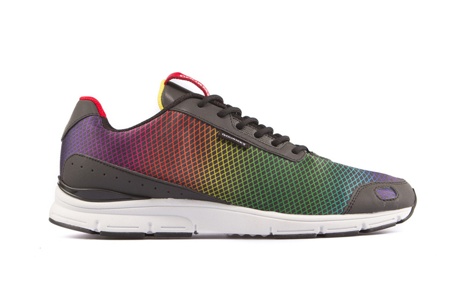 Gourmet Libero Black Rainbow/White