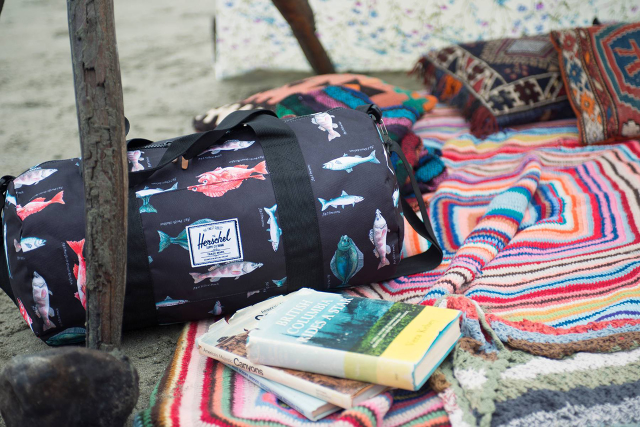 herschel supply co 2014 spring pacific print collection
