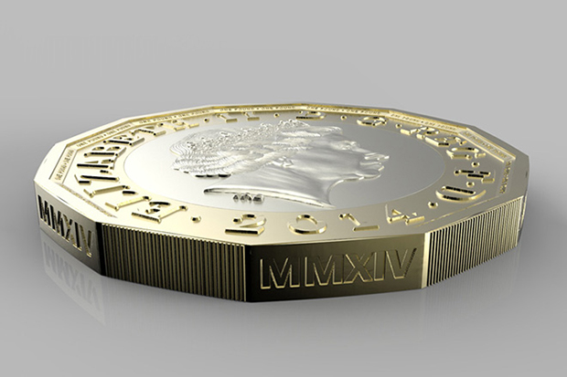 hm treasury unveils new 1 gbp coin