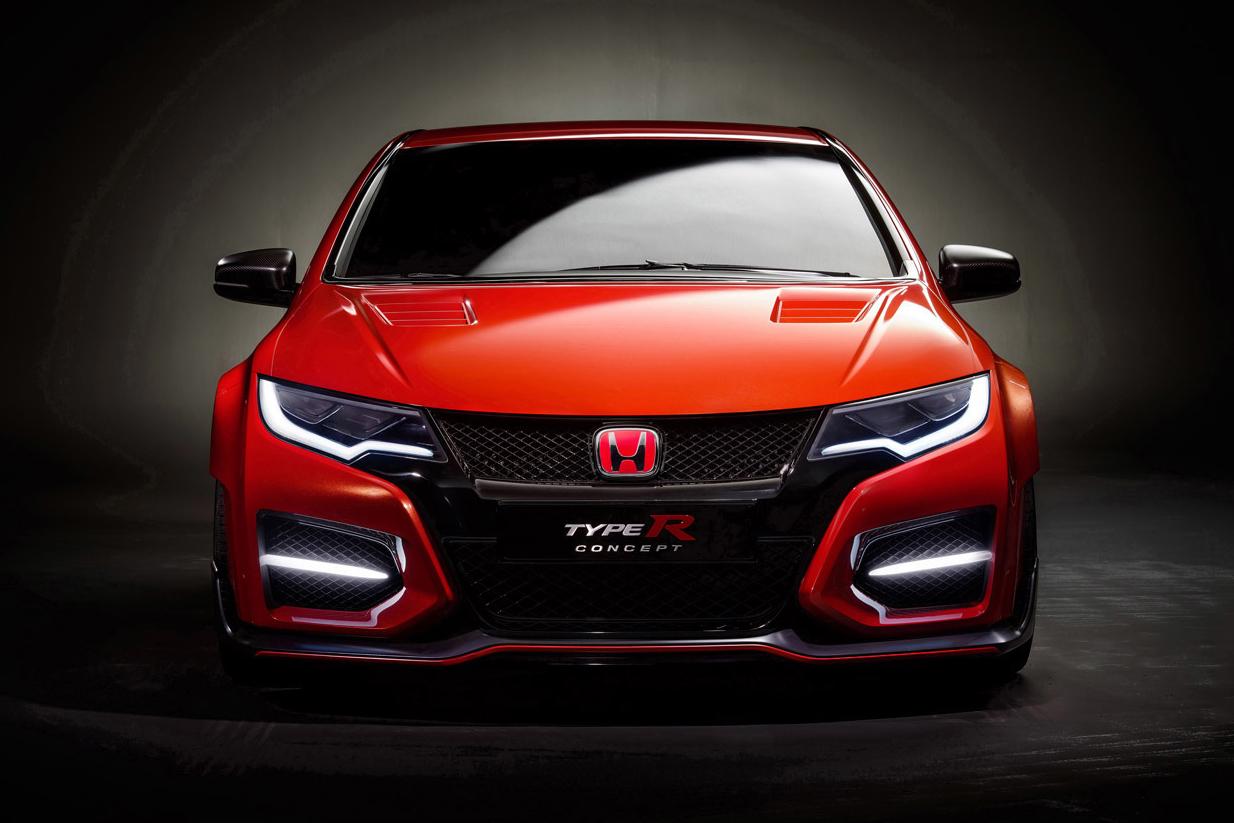 Honda Unveils the Civic Type R Concept