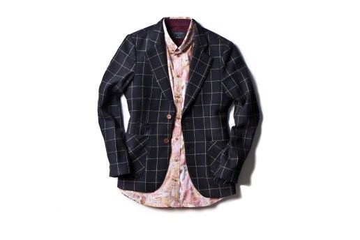 I Love Ugly 2014 Spring/Summer Check Blazer