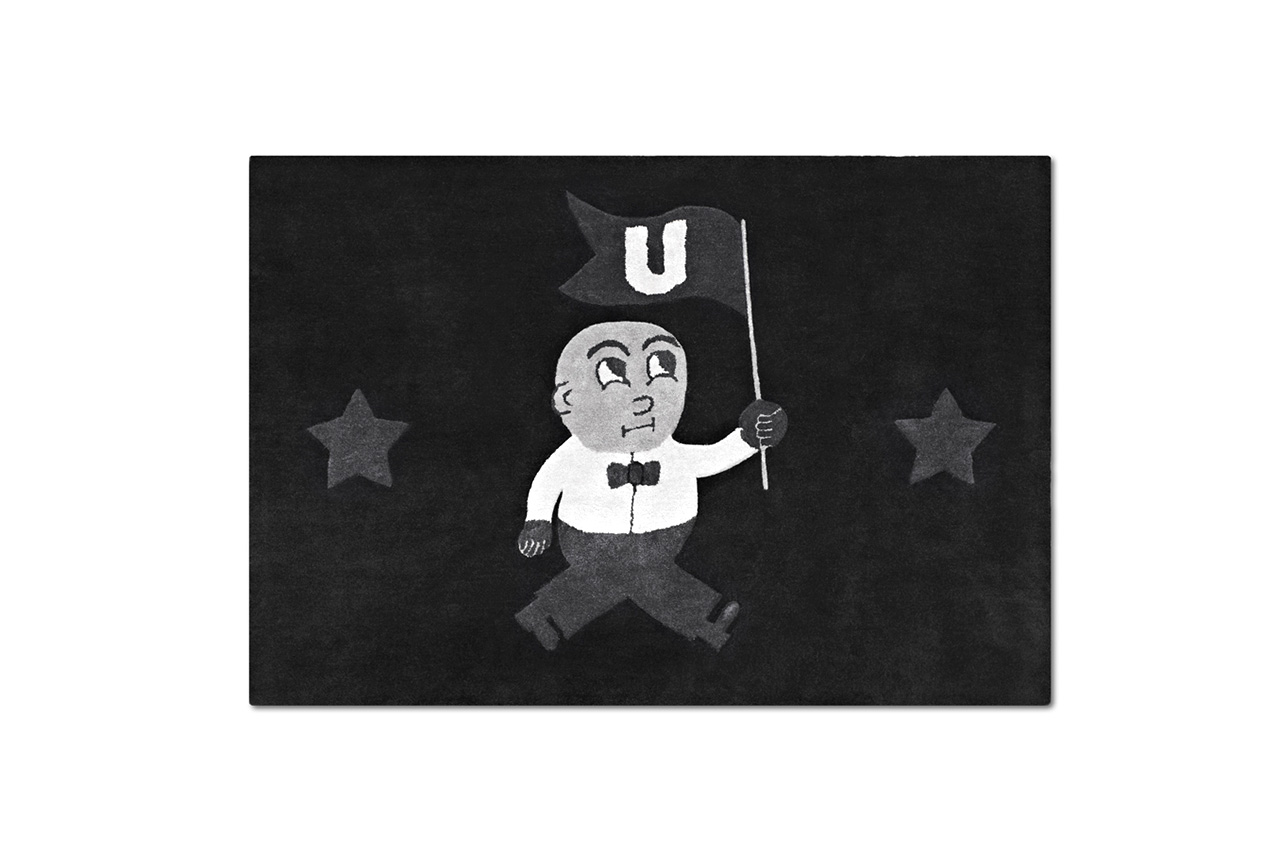 "I Love Ugly ""U-Man"" Floormat"