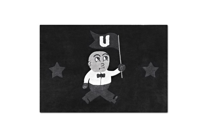 "I Love Ugly ""U-Man"" Floormat"