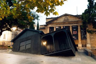 "Ian Strange ""Landed"" Installation @ The Art Gallery of South Australia"