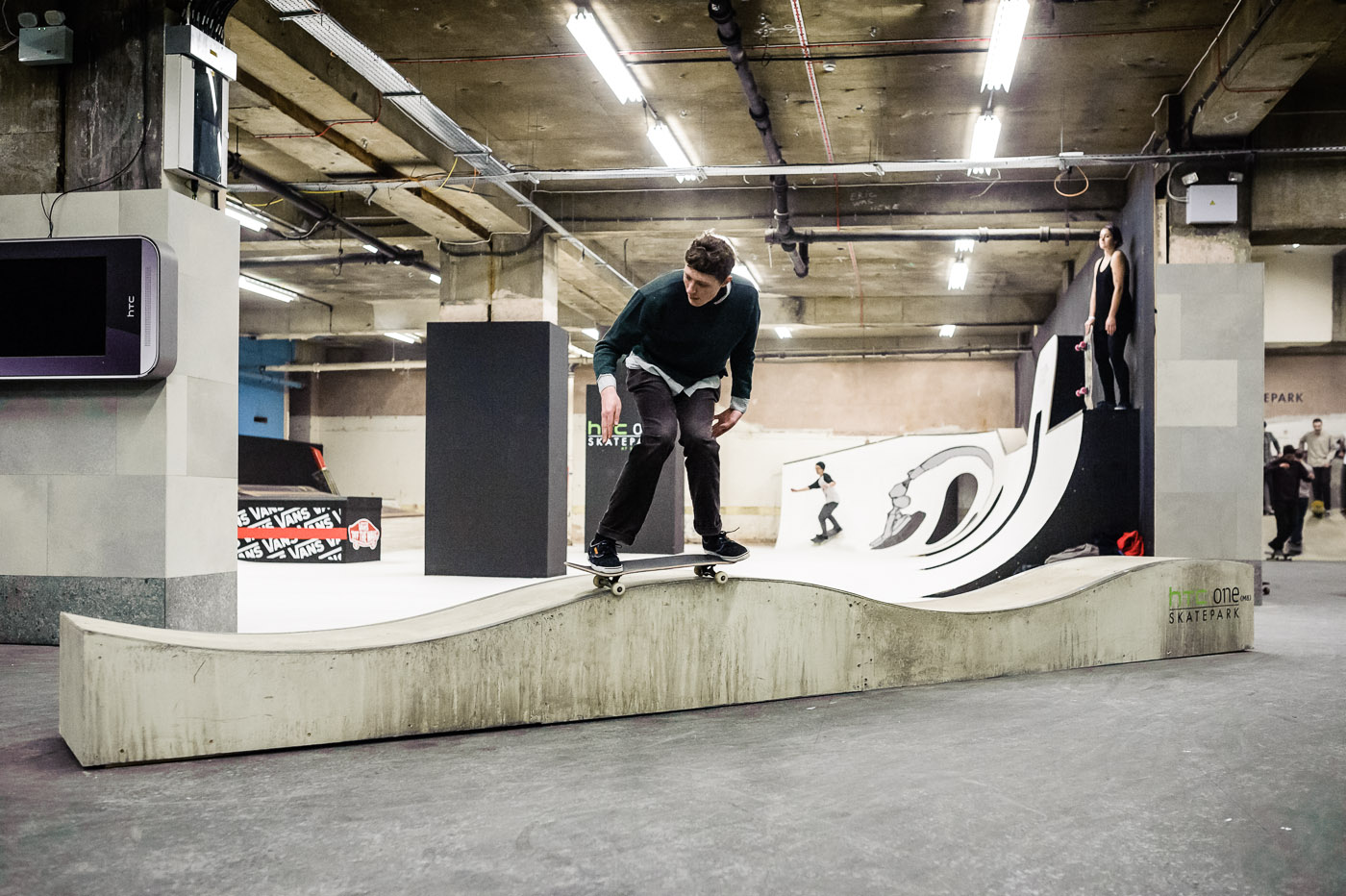 Inside the HTC One Skatepark at Selfridges