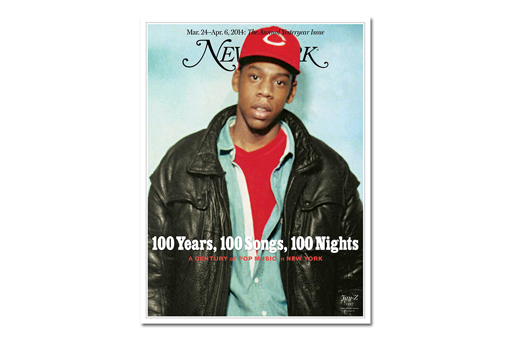 "Jay Z Covers New York Magazine's Annual ""Yesteryear"" Issue"