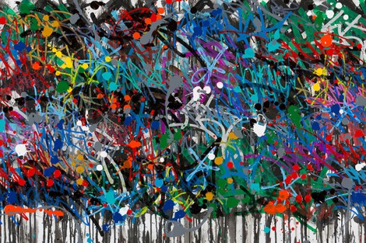 "JonOne ""Cryptation"" Exhibition @ Julien Kolly Gallery"
