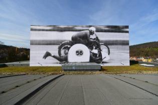 "JR ""UNFRAMED"" Project In Baden-Baden, Germany"