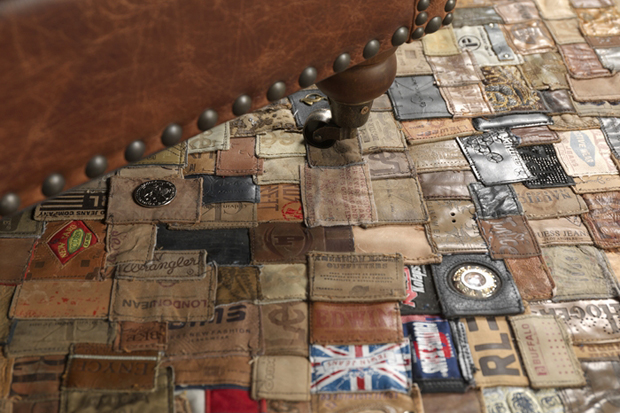 Kings of Sweden Recycled Jean Labels Carpet