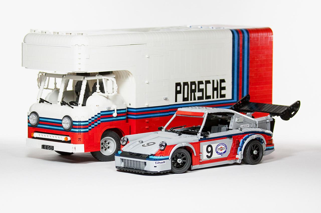 LEGO Martini Porsche Racing Set by Malte Dorowski