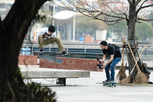 LRG's Skate Team Hits Taiwan
