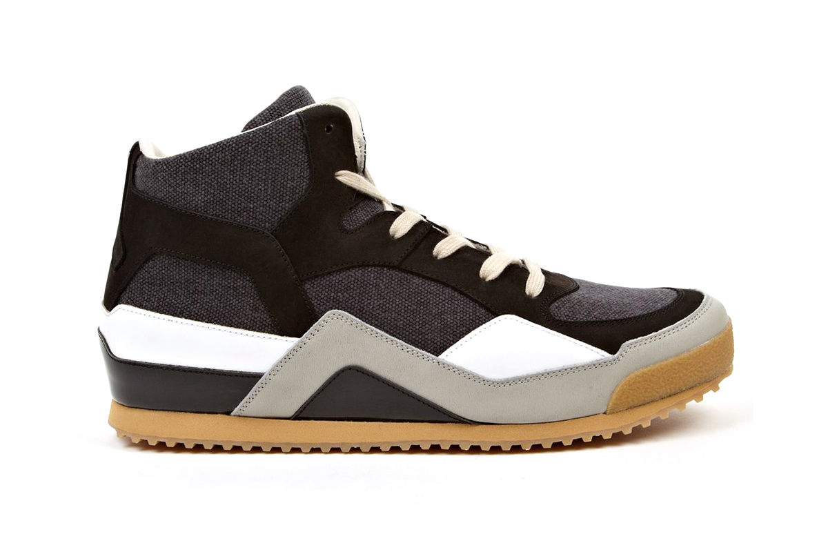maison martin margiela mid top sneakers