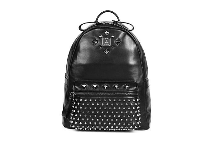 MCM Medium Studded Stark Backpack