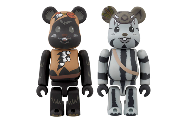 """Star Wars x Medicom Toy 100% Bearbrick """"MAY THE FORCE BE WITH YOU"""" Pack"""