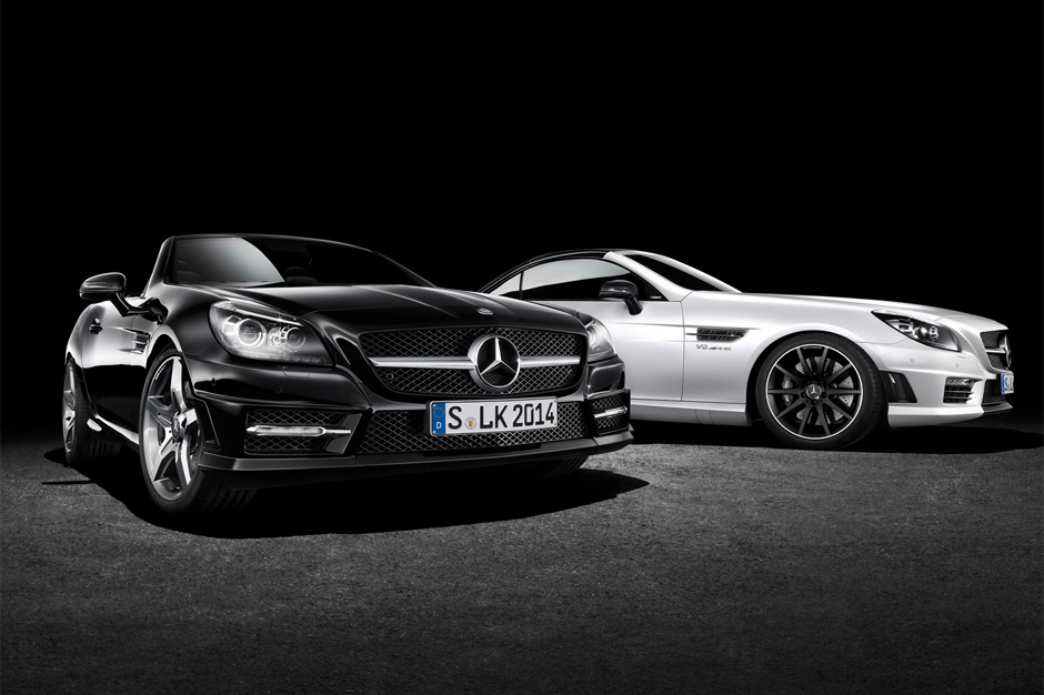 Mercedes-Benz Unveils Two Special Editions of the SL and SLK