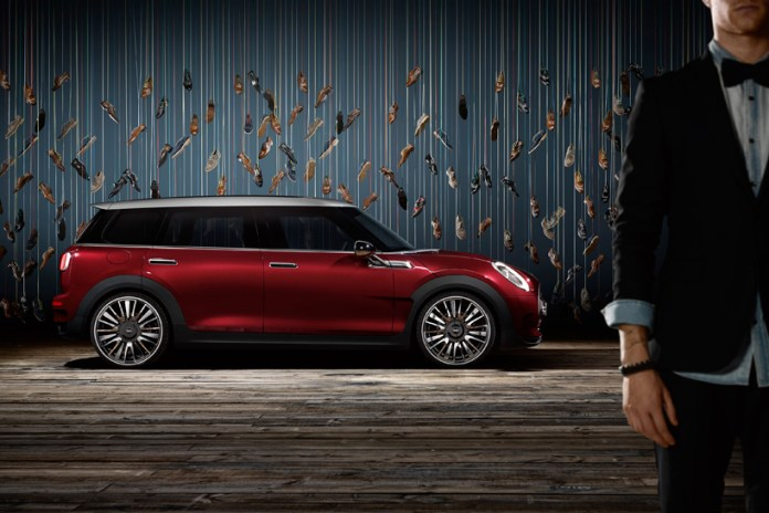 Mini Unveils the Six-Door 2015 Clubman Concept