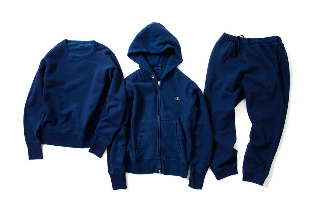 nanamica x champion japan 2014 spring collection