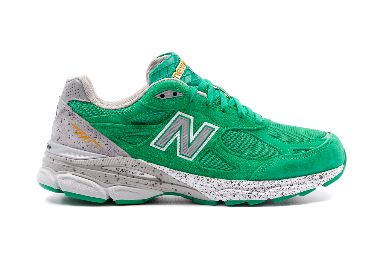 new balance 990 st patricks day