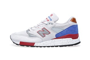 New Balance Made in USA M998BT Cement/Red/Royal