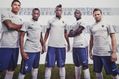 "Nike 2014 French Football Federation Kit Sees the Return of the ""Marinière"" Design"