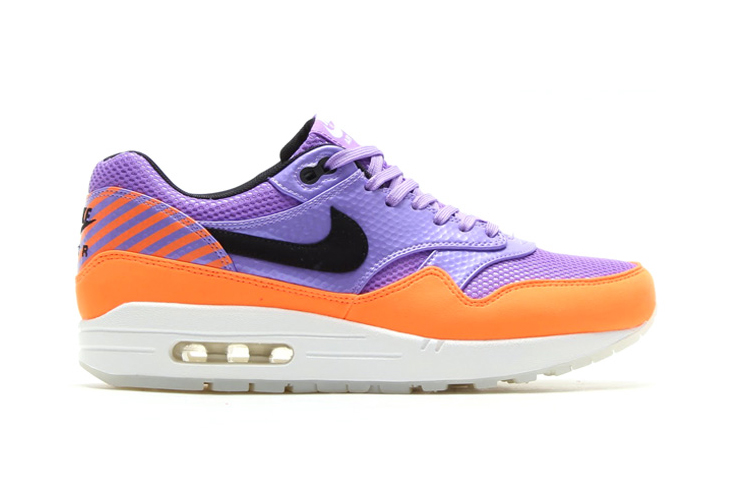 nike air max 1 fb premium qs atomic violet black total orange
