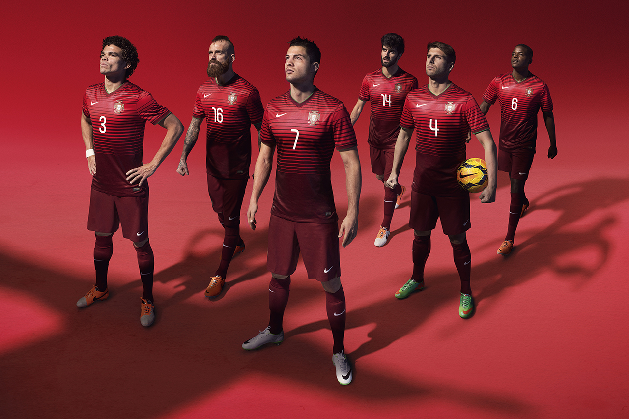 nike celebrates 100 years of the portuguese football federation