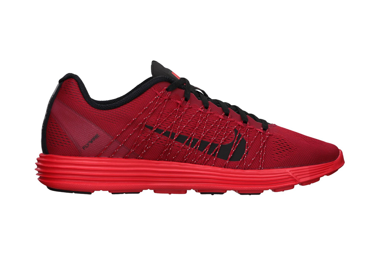 nike lunar racer 3 gym red black