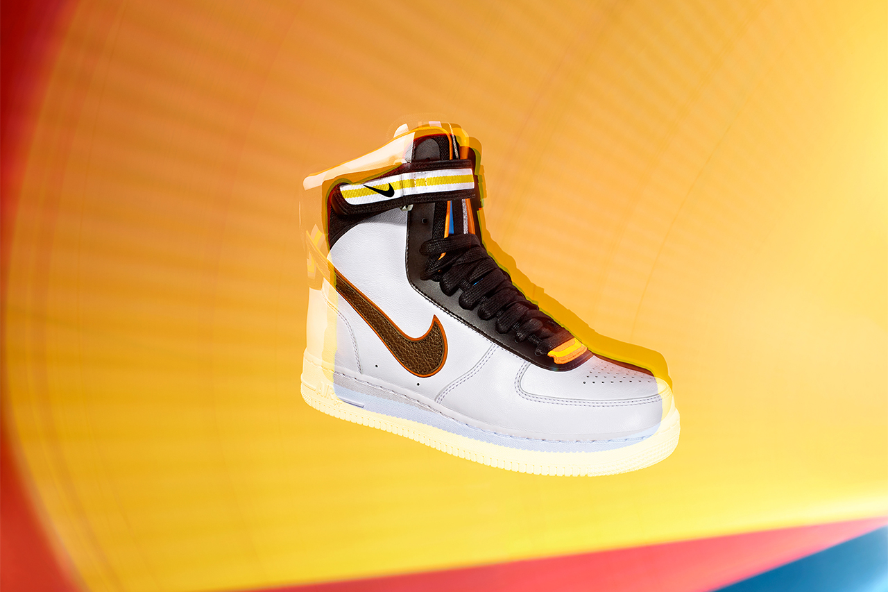 Nike Officially Unveils the Riccardo Tisci-Designed Nike + R.T. Air Force 1 Collection