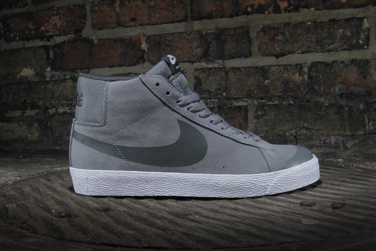 "Nike SB Blazer Premium SE ""Cool Grey"""