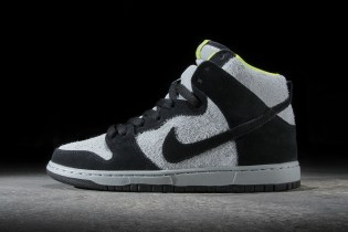Nike SB Dunk High Pro Black/Base Grey-Venom Green