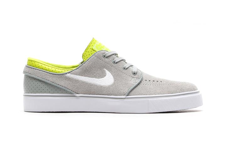 Nike SB Zoom Stefan Janoski Base Grey/White-Venom Green